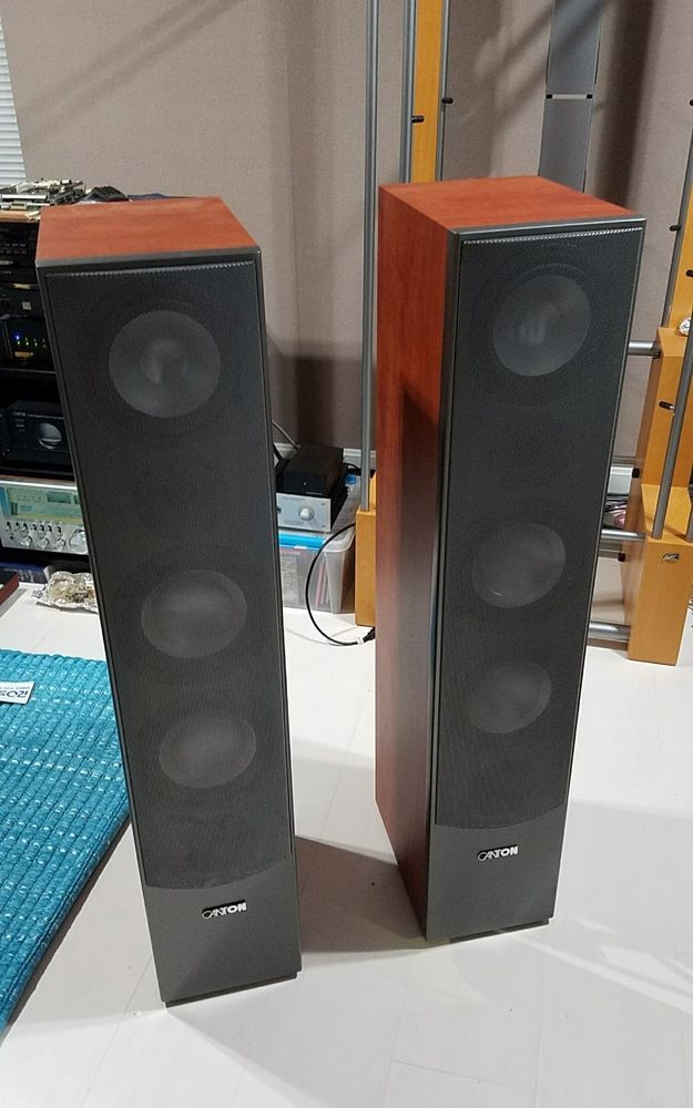 Canton GLE 490 Speakers (Pair) with Original Packaging in Excellent Condition! | Consumer Electronics, TV, Video & Home Audio, Home Speakers & Subwoofers | eBay!