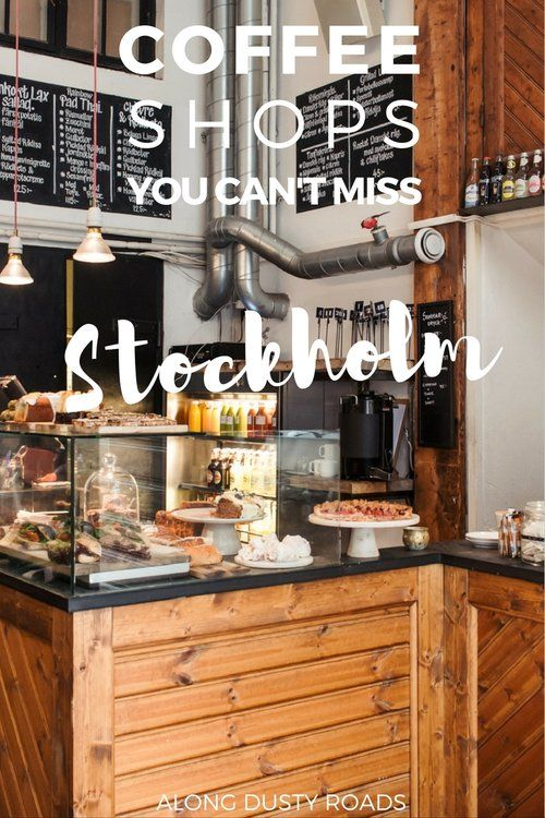 "Experiencing ""fika""in Sweden - having coffee and cake with friends. Try one of these top coffee shops in Stockholm."