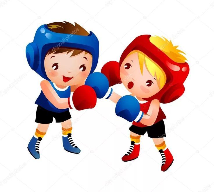 Бокс в картинках детям