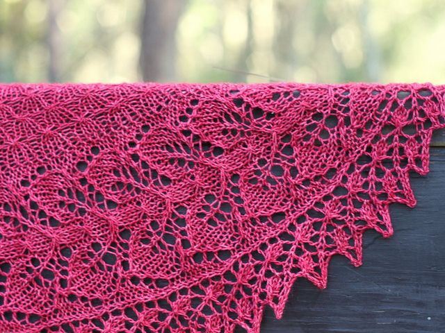 Ivy Leaf Knitting Pattern : 17 Best images about Leaf/Ivy/Vine Knit Stitch Patterns on Pinterest Stitch...