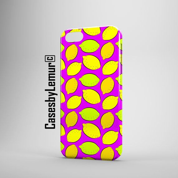 Juicy Lemons Phone Case Cover Pattern Iphone 4 4s 5c 5 5s 6 6 Plus Samsung Galaxy s4 s4 mini s5 Matte Glossy Phone 3d Smartphone Case
