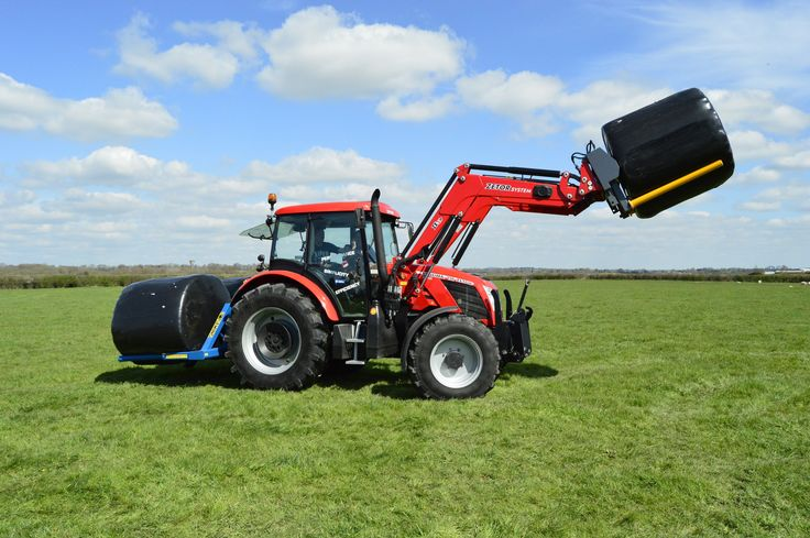 Zetor Proxima 120 with front loader