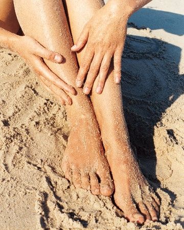 Nothing lifts your spirit like sandy feet.