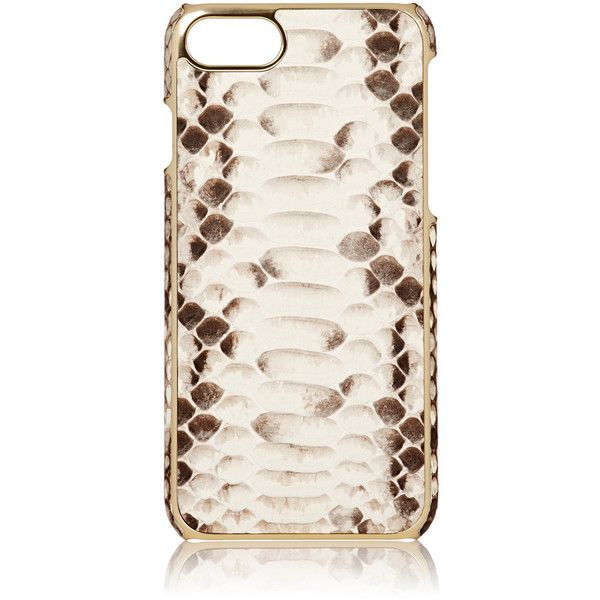 Barneys New York Men's Python iPhone® 7 Case (705 ILS) ❤ liked on Polyvore featuring men's fashion, men's accessories, men's tech accessories and nude