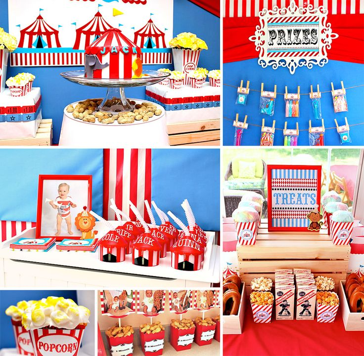 Best Circus Party Images On Pinterest Birthday Party Ideas - Circus birthday party ideas pinterest