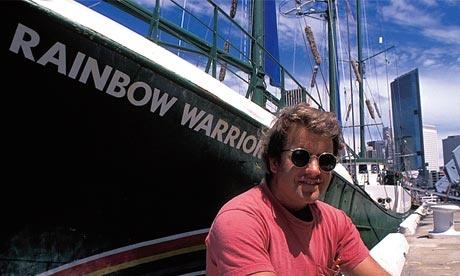 Captain Peter Wilcox of the Rainbow Warrior I (1985)