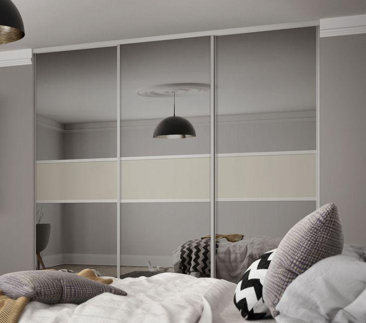 Best 25 sliding wardrobe doors ideas on pinterest white - Bedroom with sliding glass doors ...