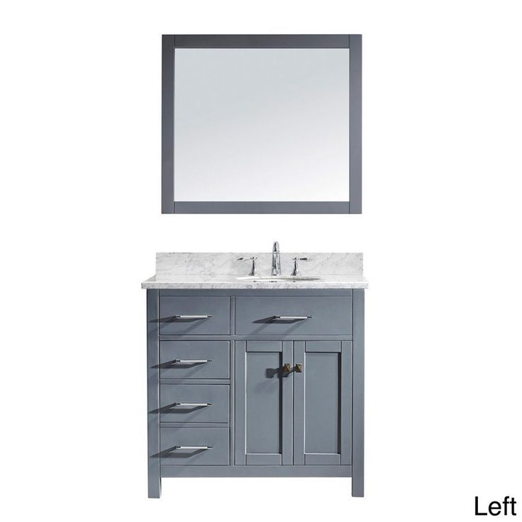 25 best ideas about 36 inch bathroom vanity on pinterest Virtu usa caroline 36 inch single sink bathroom vanity set
