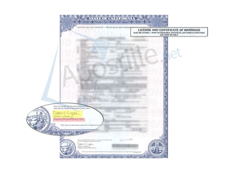 71 Best State Of California Sample Apostille Images On