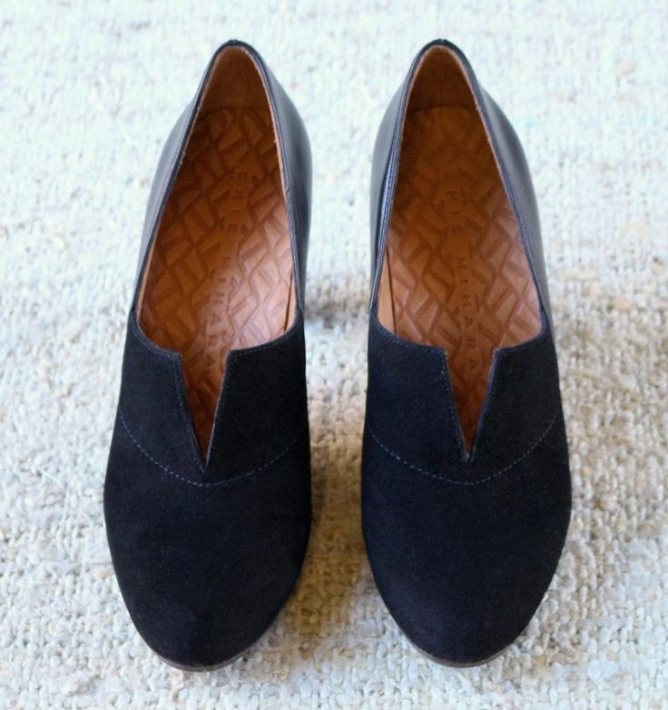 FIANZA BLACK SUEDE :: SHOES :: CHIE MIHARA SHOP ONLINE