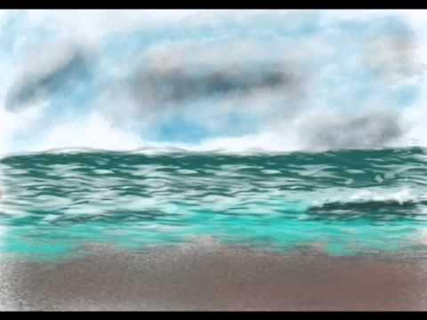 Rain Over The Sea