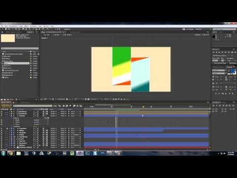 Motion graphics run through - YouTube