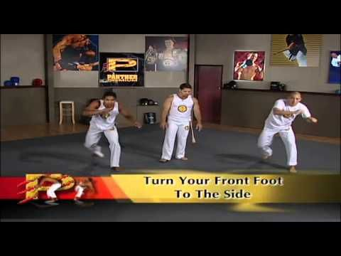 Capoeira Basics, by Grupo Axe. Lots of Gingas & SORE legs!