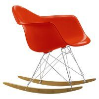 Vitra Eames RAR rocking chair, red, Vitra Design, Charles Eames