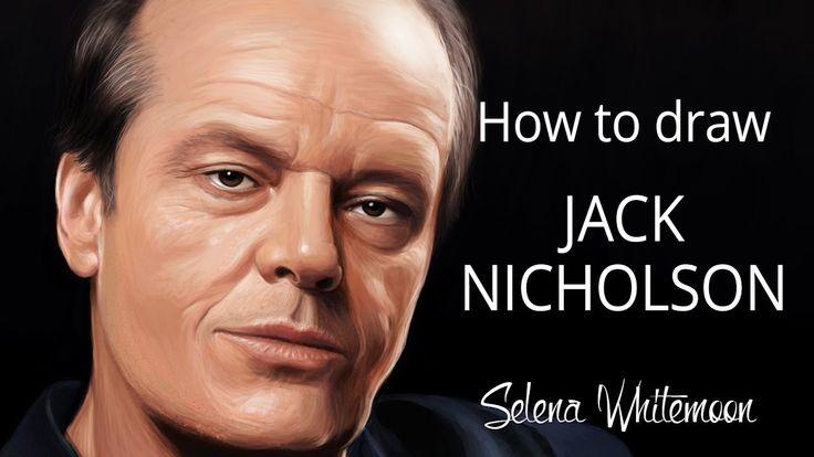 How to Draw: Jack Nicholson | Как это рисовалось: Джек Николсон