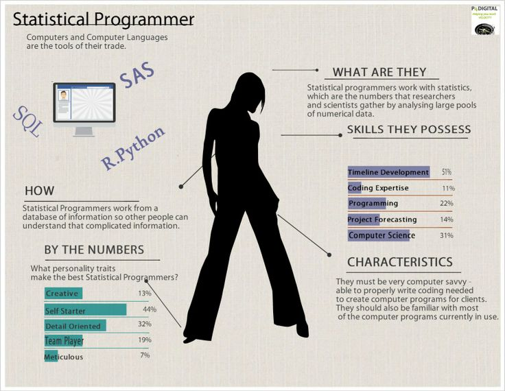 8 best Job Infographics images on Pinterest Info graphics - statistical programmer sample resume
