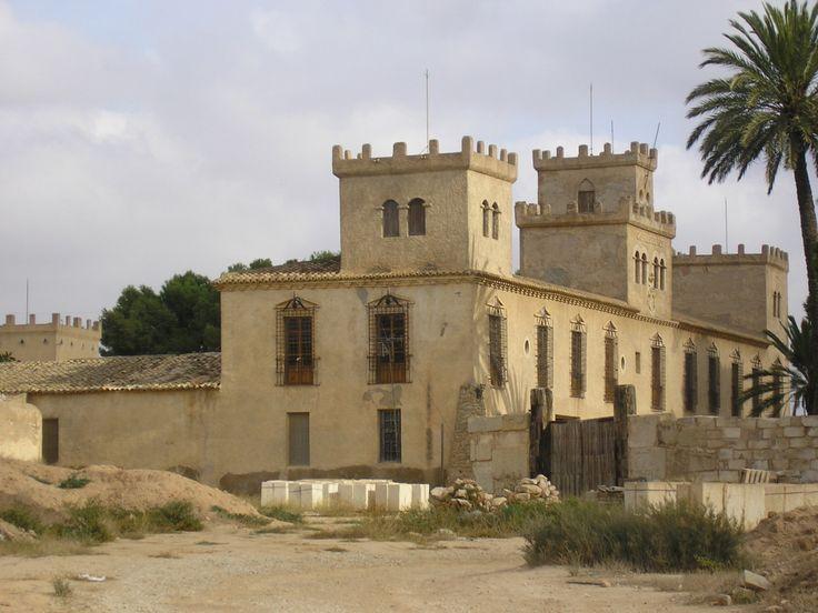 Castillo de los Vizcondes de Ros Murcia Spain.