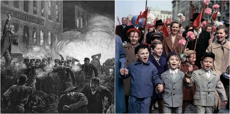 The Haymarket Affair and the origins of the International Workers' Day celebration