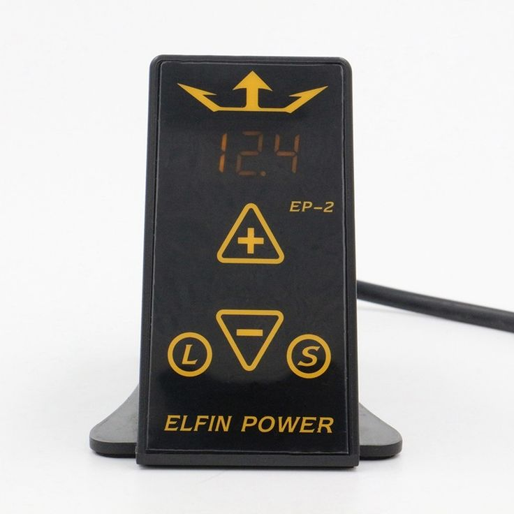 High quality tattoo power supply ELFIN power supply black power supply unit for tattoo kit power supply clip cord  free shipping #Affiliate