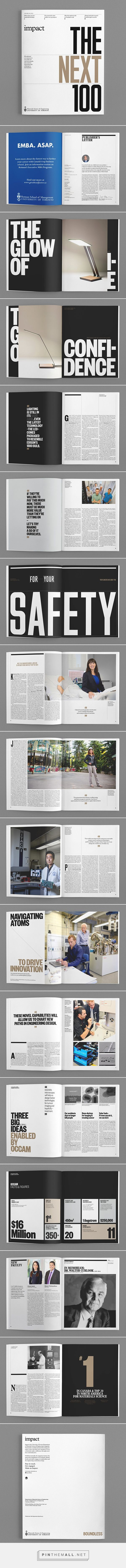What do you think about lines between the columns? -- Impact Magazine, Issue 3