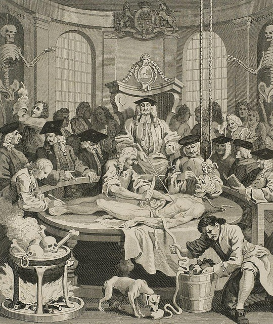 William Hogarth, The Reward Of Cruelty, 1799