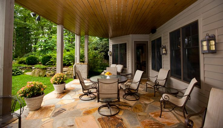 15 best waterfront backyard images on pinterest diy for Waterfront deck ideas