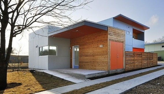 Five star modern home at sol austin on pinterest for Modern house siding solutions