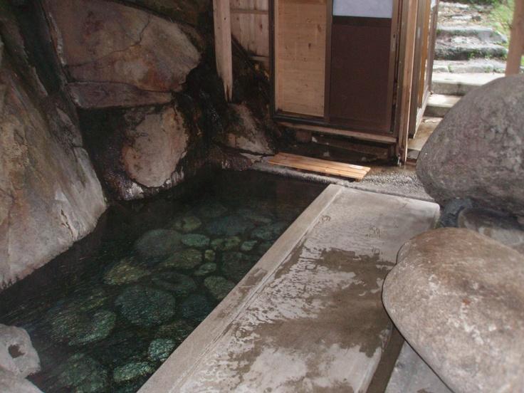 木賊温泉共同風呂