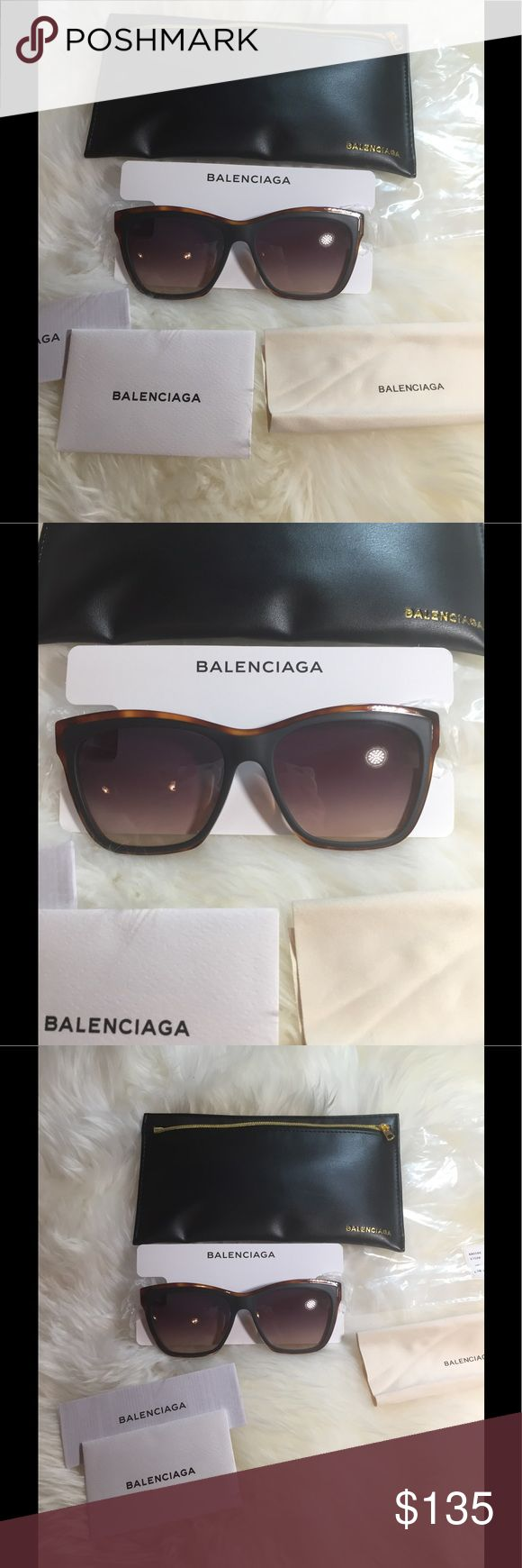 New Authentic Balenciaga Sunglasses New with original package.Original at $360.Price is firm.Two different colors are available. Balenciaga Accessories Glasses