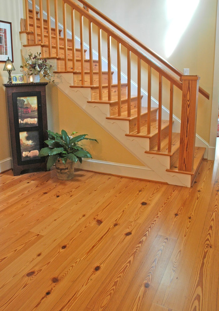 Best Antique Select Heart Pine Stair Treads And Risers Stair 400 x 300