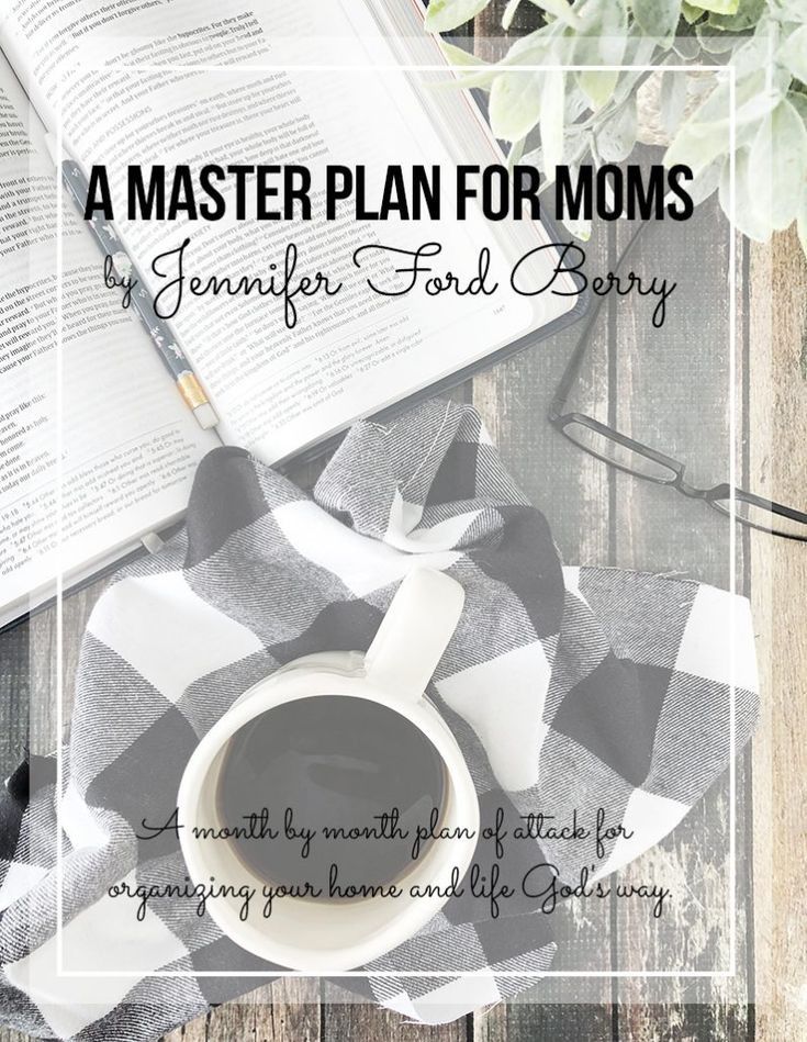 A MASTER PLAN FOR MOMS