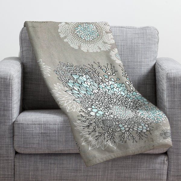 This Deny Designs fleece throw blanket may be the softest blanket ever! When you've used it so much that it's time for a wash, no big deal, as it's machine washable with no image fading.