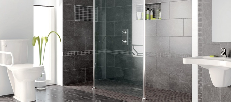 beautiful accessible shower and bathroom call 715-743-2771 if you are a contractor or a business who would like to sell these products