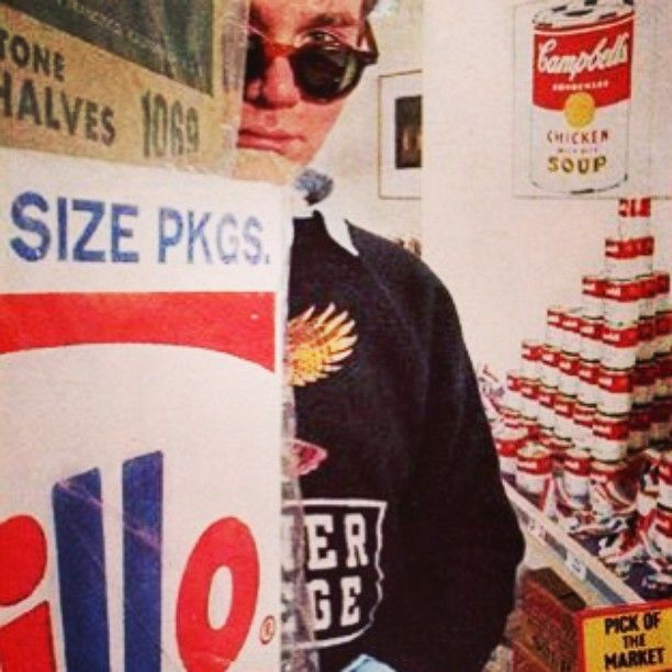Andy Warhol #AndyWarhol #art #warholpopart #Warhol #photography #photo #picture  #photoart #popart #instagood #picoftheday #photooftheday #colors #exposure #brillobox #arte #capture #pop #campbell #campbellsoup #contemporaryart #onlygoodvibez