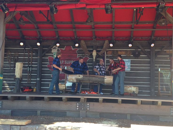 The new Canadian Lumberjack Show at Epcot premiered