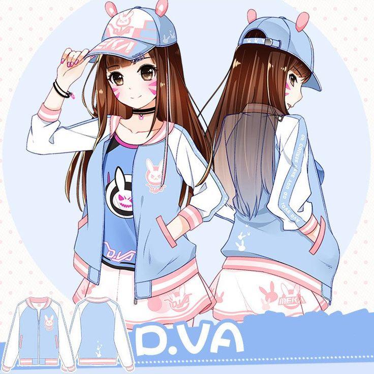 [pre-order] Overwatch D.VA Bunny Summer Jacket SD01466