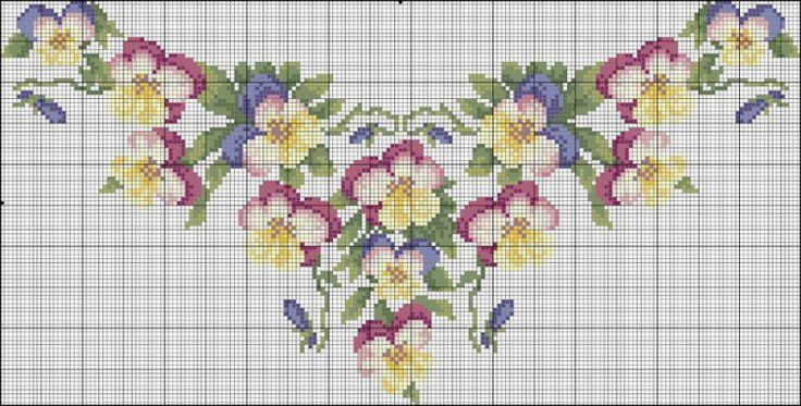 Gallery.ru / Фото #11 - схемы для вышиванок - zhivushaya