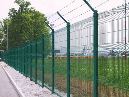 Welded wire mesh security fence was first developed in Europe where it has almost completely replaced chainlink fence for perimeter barrier security.
