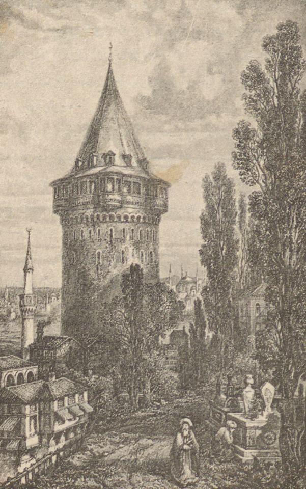 [Ottoman Empire] Galata Tower, Istanbul, 1794 (Galata Kulesi, İstanbul, 1794)