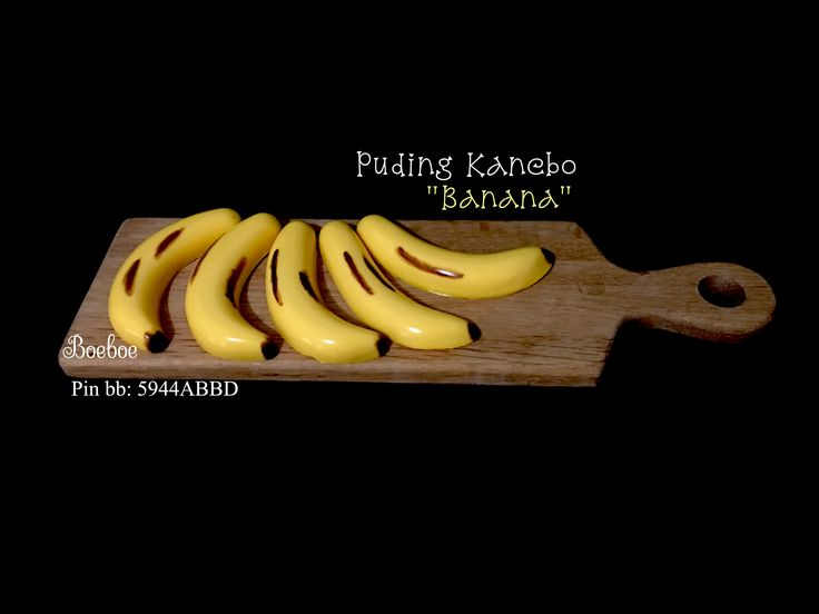 "Pudding Kanebo ""Banana"""