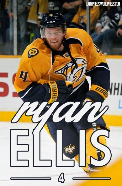 Ryan Ellis - #4 - Nashville Predators
