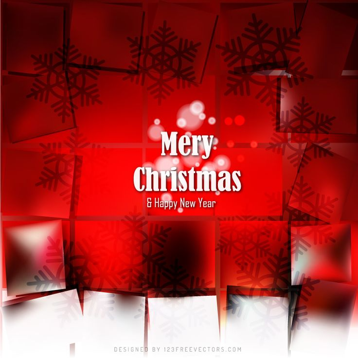 Red Christmas Background with Snowflakes  - https://www.123freevectors.com/red-christmas-background-with-snowflakes-75651/