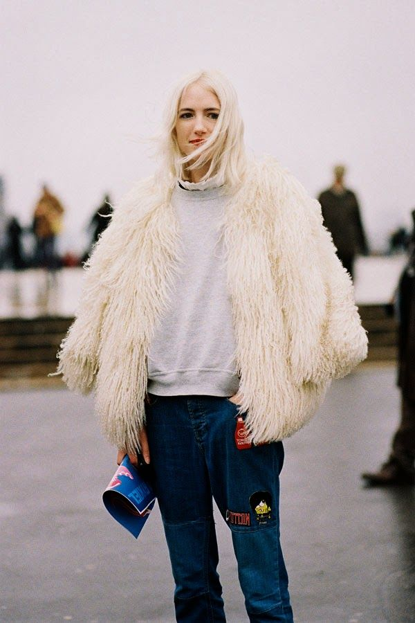 Vanessa Jackman: Paris Fashion Week AW 2014....Phoebe