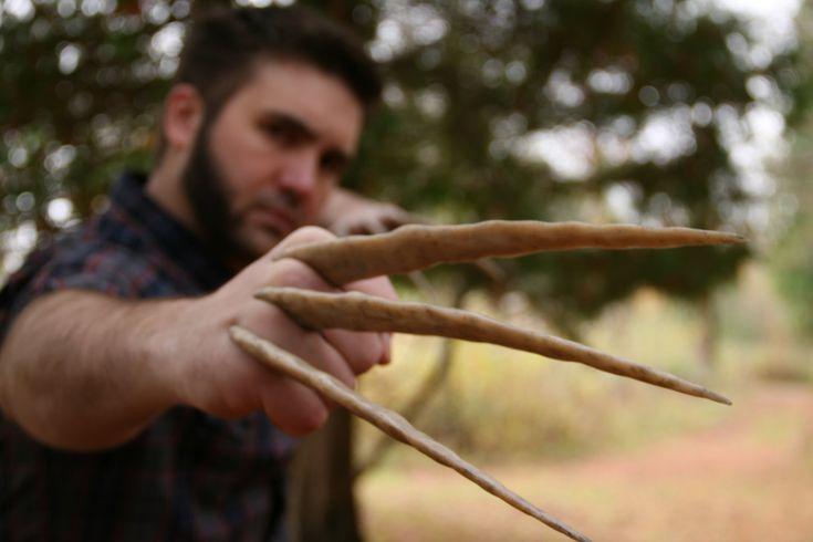 Custom Wolverine Bone Claws Hand Sculpted and by DarkMatterProps