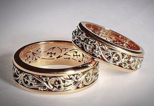 Самые необычные обручальные кольца для молодоженов: