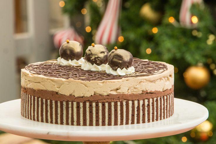 Amanda's Hazelnut, Espresso and Chocolate Mousse Cake Recipe | The Great American Baking Show