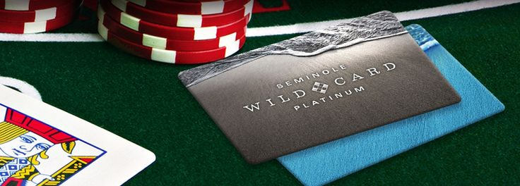 Redeem Your Points at any Seminole Florida Casino with a Seminole Wild Card -- Learn more about the card and benifits: