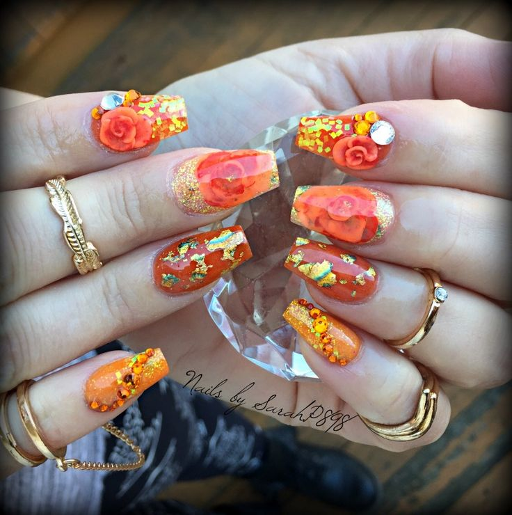 52 best Fall/Autumn Nails images on Pinterest   Fall nails, Autumn ...