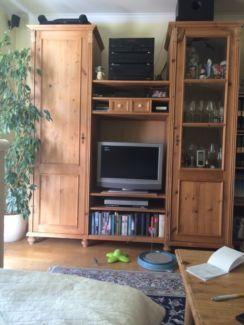 Beautiful Schrank Kiefer Natur Selbstanholung in M nchen Schwabing West Wohnwand gebraucht kaufen eBay