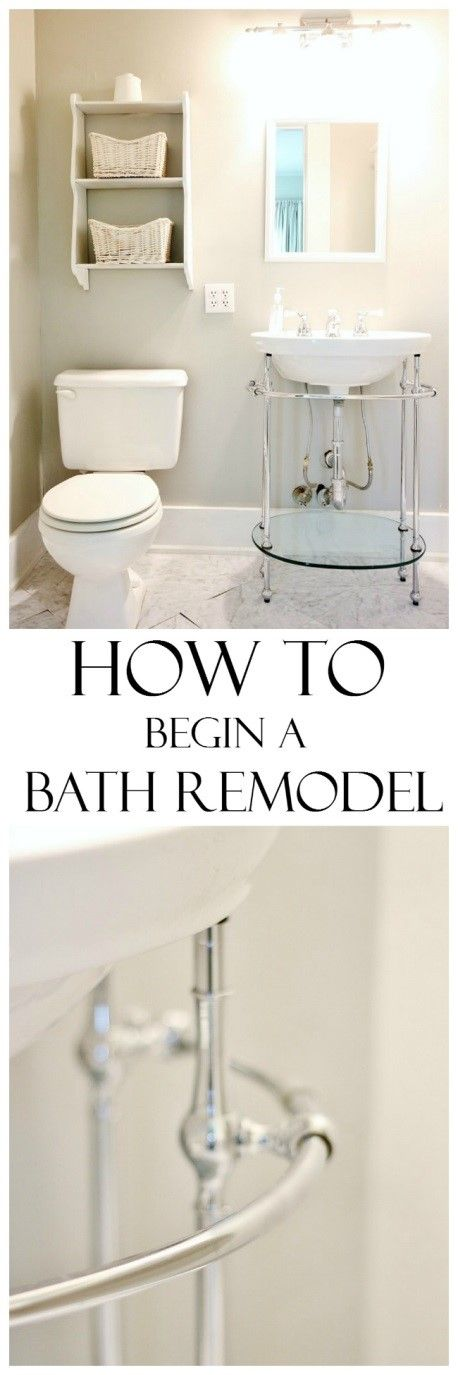 How to Get Started On a Home Remodel314 best Bathroom Design Ideas images on Pinterest   Bathroom  . Remodeling Your Own Bathroom. Home Design Ideas